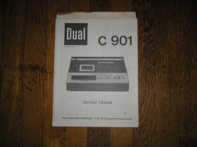 C901 Cassette Deck Service Manual