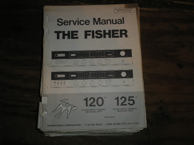 120 125 Receiver Service Manual 