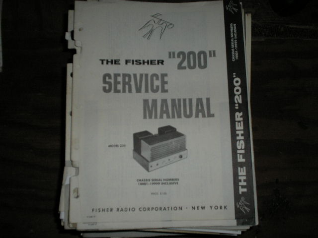 200 Amplifier Service Manual for Serial no. 10001 - 19999