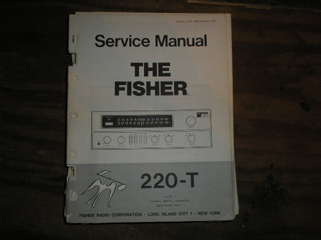 220-T Receiver Service Manual For Serial no.10001 and up