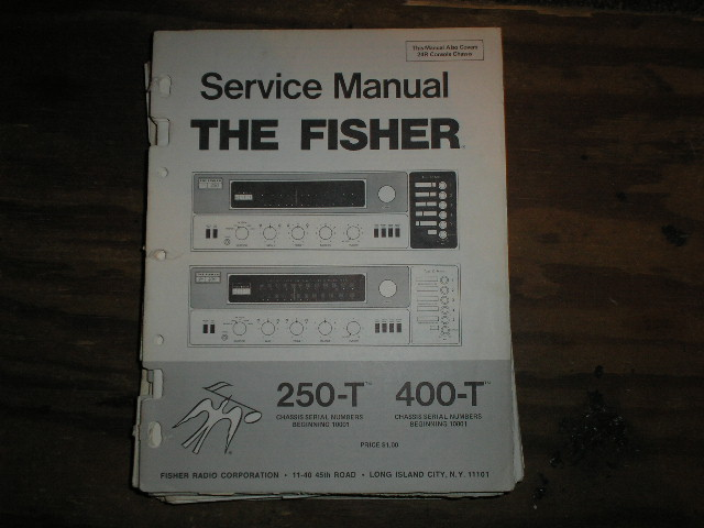 250-T 400-T Receiver Service Manual 