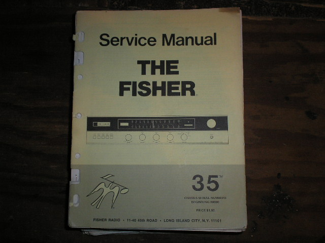 35 Receiver Service Manual  for Serial no. 80000 and up