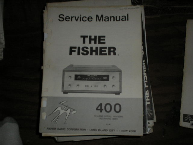 400 Receiver Service Manual from Serial no. 48001 and up