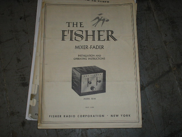 50-M Mixer Fader Service Manual