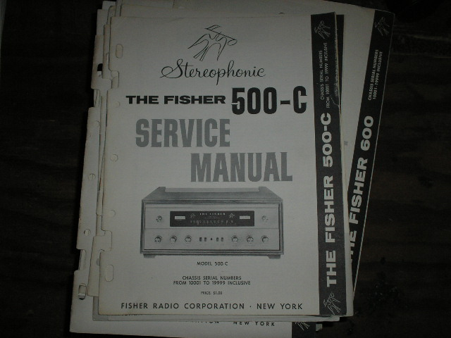 500-C Receiver Service Manual from Serial no. 10001 - 19999