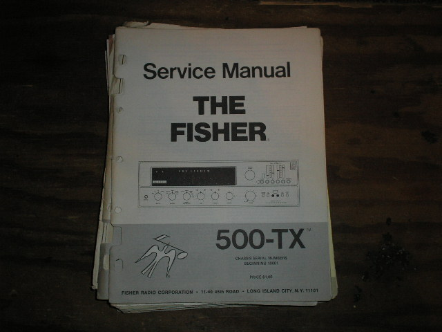 500-TX RECEIVER Service Manual from Serial no. 10001