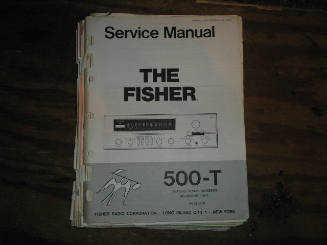 500-T RECEIVER Service Manual from Serial no. 10001