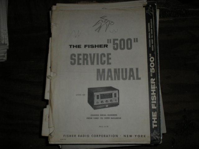 500 Receiver Service Manual from Serial no. 10001 - 19999