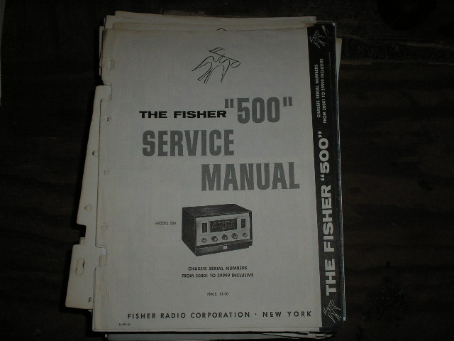 500 Receiver Service Manual from Serial no. 20001 - 29999