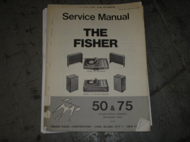 50 75 Phonograph System Service Manual
