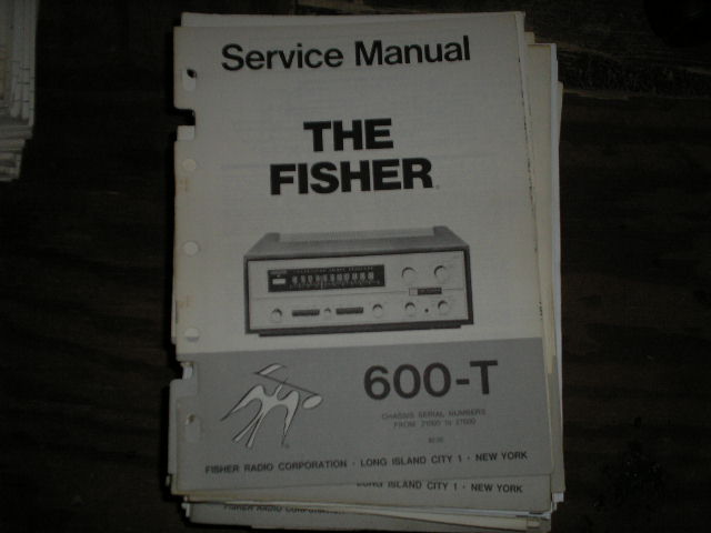 600 Receiver Service Manual from Serial no. 20001 - 29999