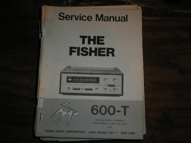 600-T Receiver Service Manual from Serial no. 39000 - 41000