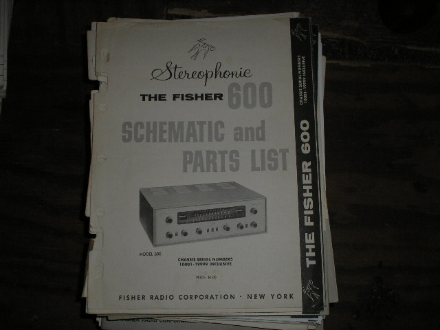 600 Receiver Service Manual from Serial no. 10001 - 19999