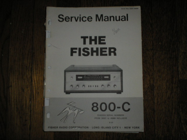 800-C Receiver Service Manual from Serial no. 30001 - 39999