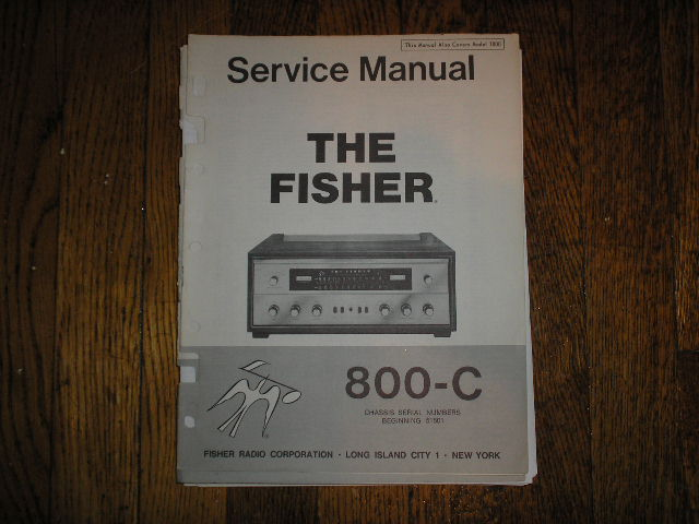 800-C Receiver Service Manual from Serial no. 51501 AND UP
