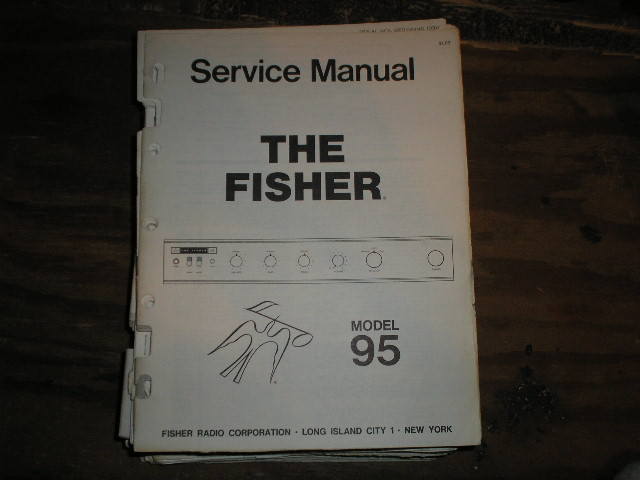 95 Amplifier Service Manual