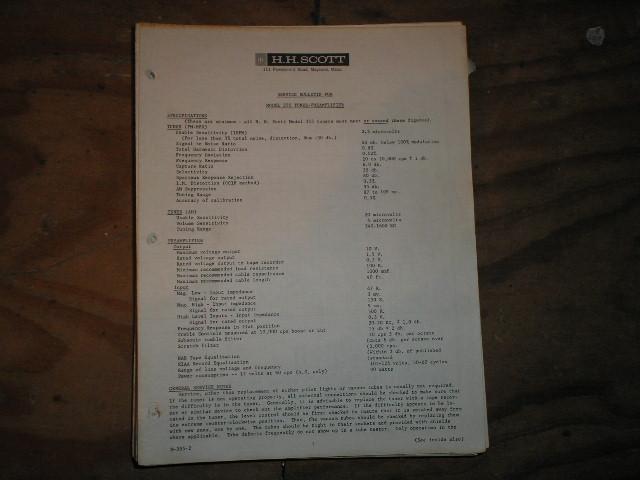 355 Tuner/Pre-Amp  Service Manual