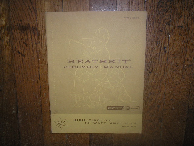 EA-3 Amplifier Assembly Service Manual with Schematic
