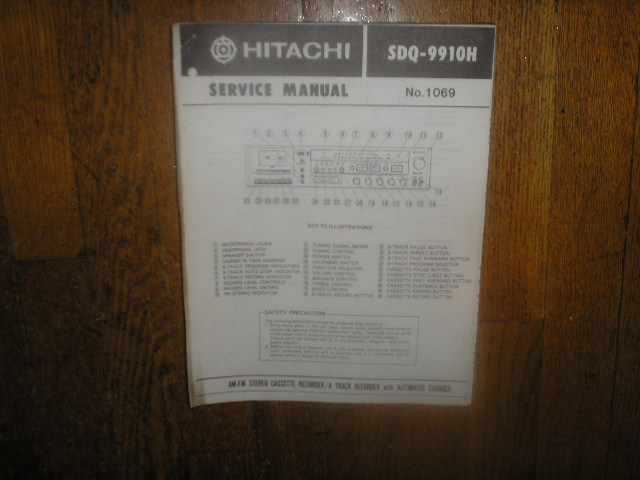 SDQ-9910H  Stereo System Service Manual