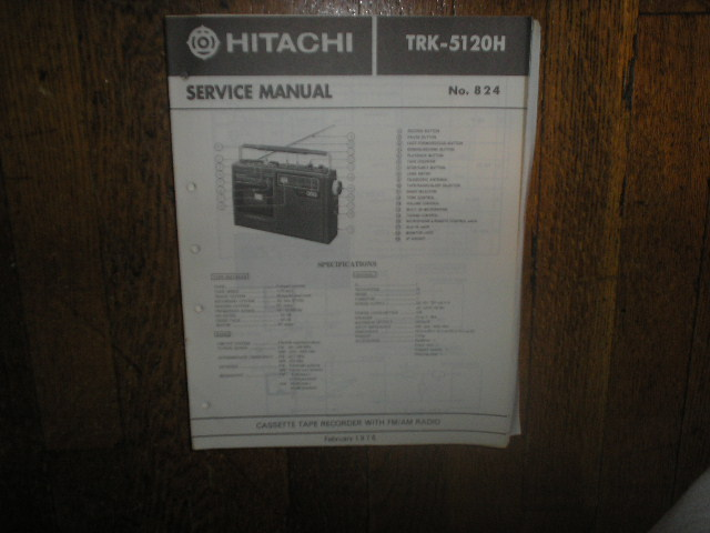 TRK-5120H CASSETTE RADIO Service Manual