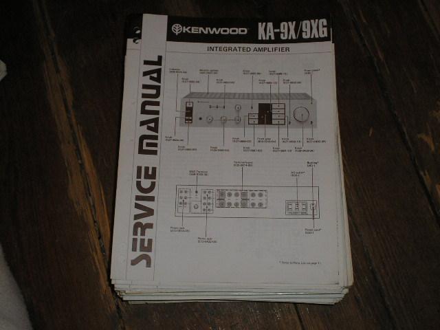 KA-9X KA-9XG Service Manual