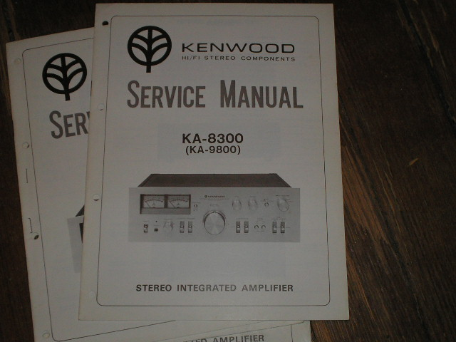 KA-9800 KA-8300 Amplifier Service Manual