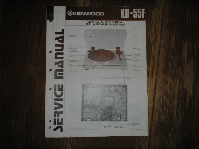 KD-55F Direct Drive Turntable Service Manual