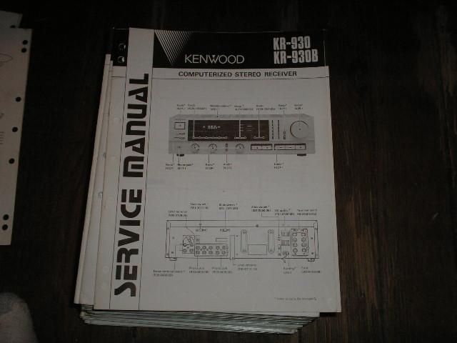 KR-930 KR-930B Receiver Service Manual B51-1486...880