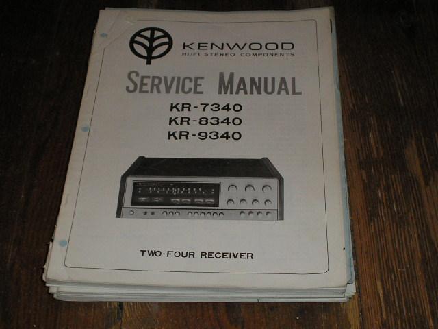 KR-9340 KR-7340 KR-8340 Manual