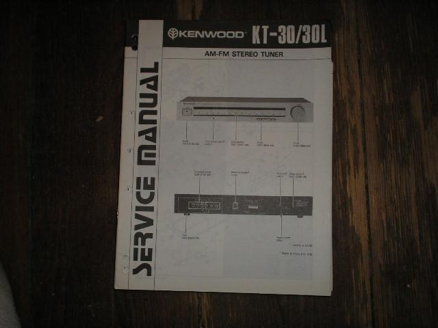 KT-30 KT-30L Tuner Service Manual    B51-0764...22