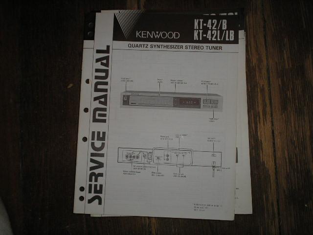 KT-42 KT-42B KT-42L KT-42B Tuner Service Manual B51-1957...88