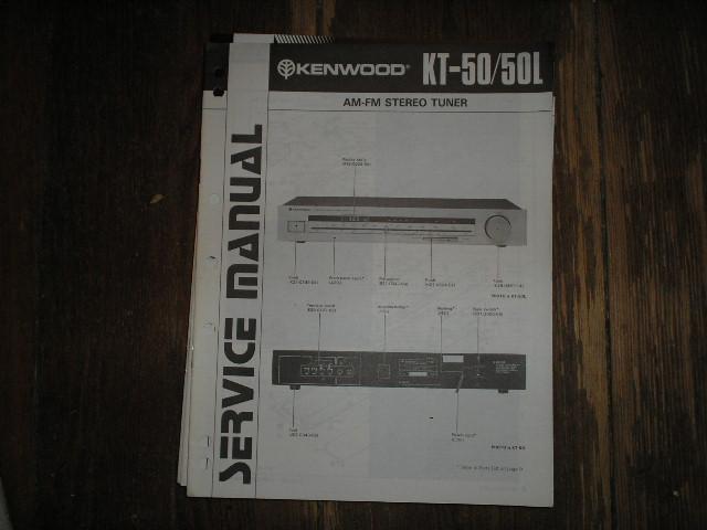KT-50 KT-50L Tuner Service Manual B51-0765...44