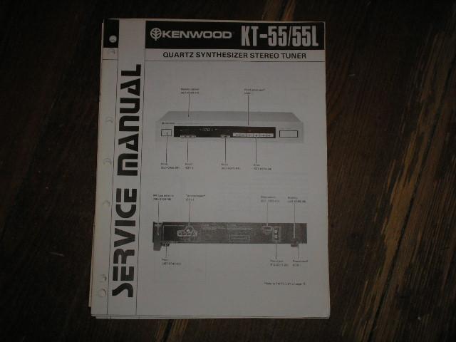 KT-55 KT-55L Tuner Service Manual B51-1290...88