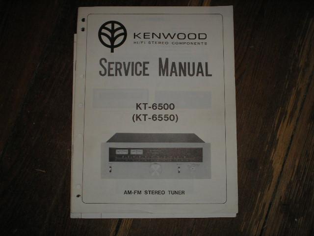 KT-6500  KT-6550 Tuner Service Manual