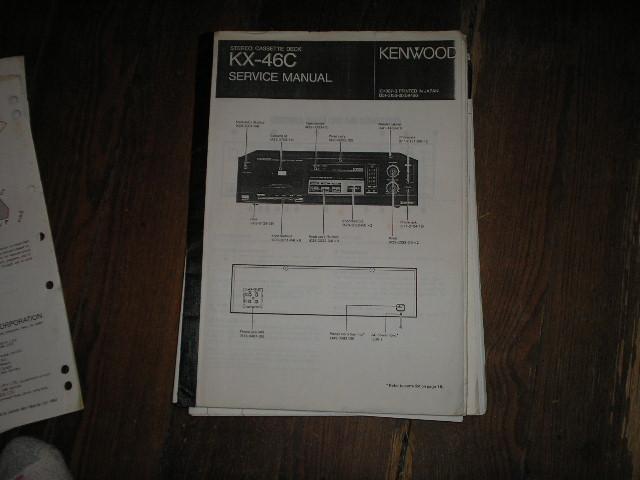 KX-46C Cassette Deck Service Manual