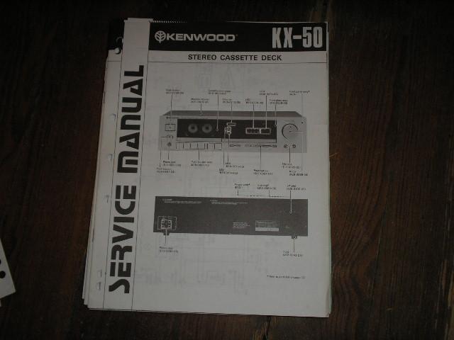 KX-50 Cassette Deck Service Manual...B51-0760...880
