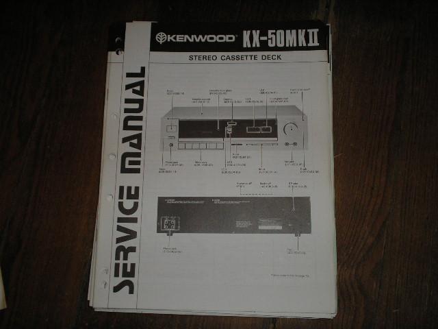 KX-50 MK II Cassette Deck Service Manual B51-1282...880
