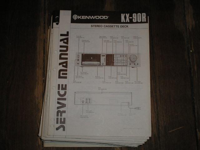 KX-90R Cassette Deck Service Manual B51-1273...888