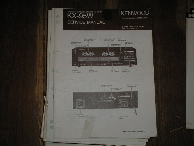 KX-95W Cassette Deck Service Manual