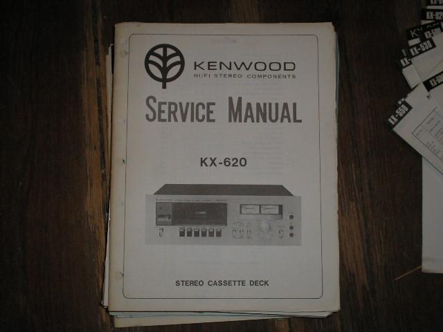 KX-620 Cassette Deck Service Manual