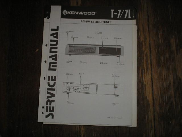 T-7 T-7L  Tuner Service Manual B51-1326...88