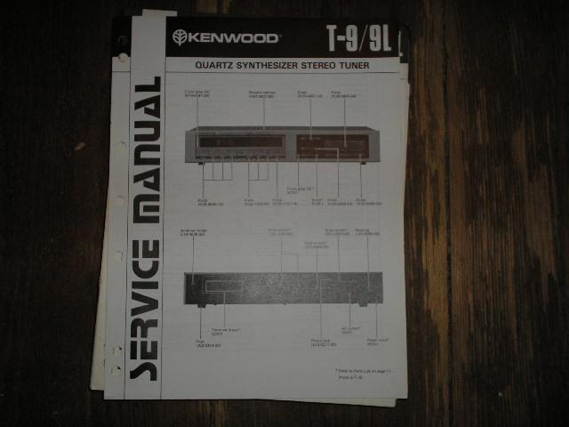 T-9 T-9L  Tuner Service Manual B51-1318..880