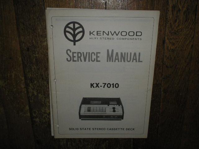 KX-7010 Cassette Deck Service Manual