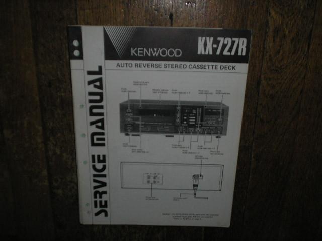 KX-727R Cassette Deck Service Manual