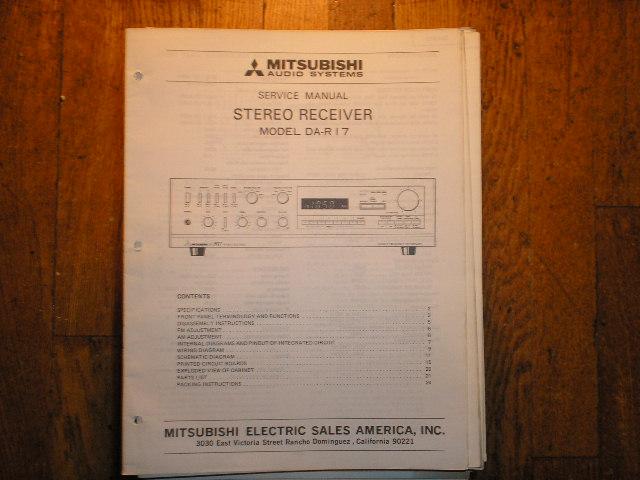 DA-R17 Receiver Service Manual
