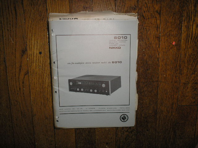 STA-6010 AM FM Stereo Receiver Service Manual with Schematic