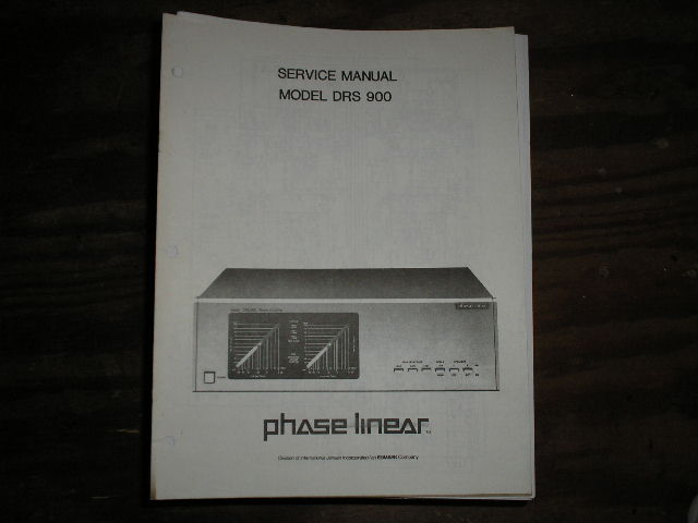 DRS-900 Power Amplifier Service Manual