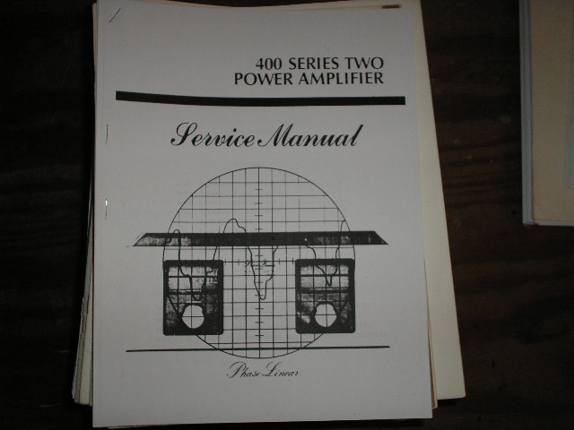 400 Amplifier Service Manual