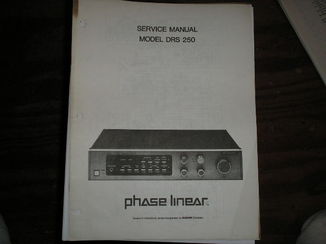 DRS-250 Amplifier Service Manual