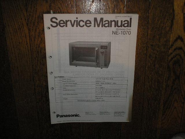 NE-1070 Microwave Oven Service Repair Manual